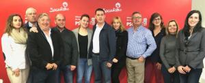 Nueva Ejecutiva del PSOE de Villarrubia de los Ojos